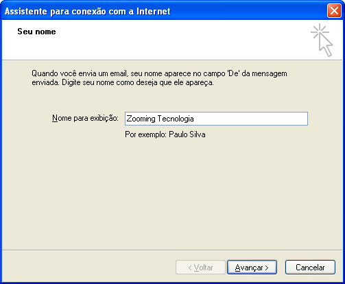 Gmail-Adicionando conta no Outlook Express