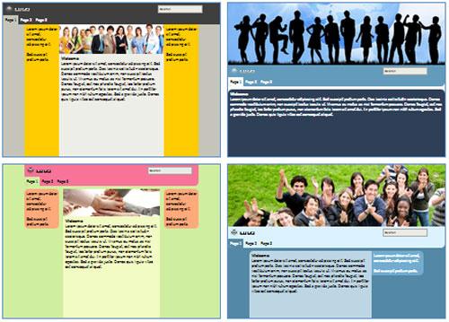 Modelos de sites de Associação/fundação/liga