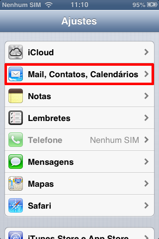 how to change email iphoen from pop to imap