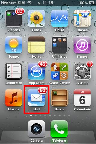 Acesso ao Email em dispositivos iOS
