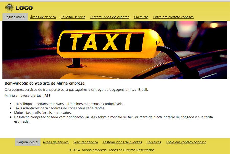 modelo-de-site-taxi