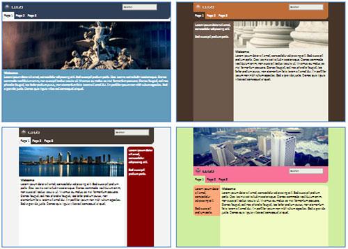 Modelos de sites de Cidade, Município ou Vila