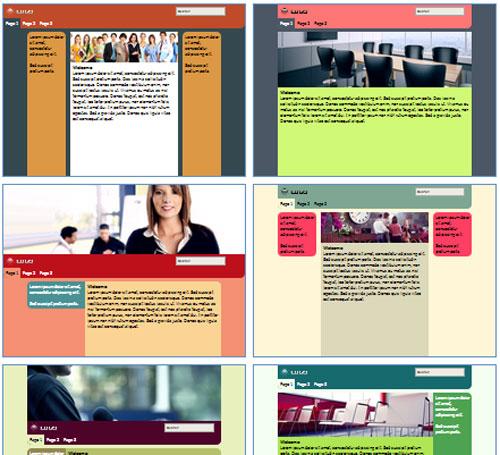 Modelos de sites de Seminário/Convenção/Feira