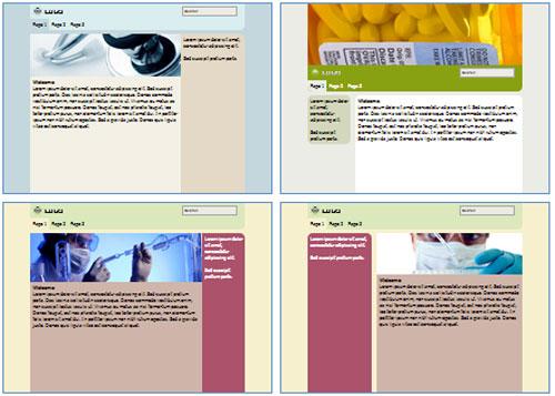 Modelos de sites para Farmácia